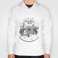 zentangle Hoodies featuring Zentangle by Alex Vladoiu
