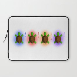 Four Baby Turtles Laptop Sleeve