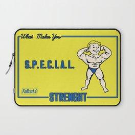 Strength S.P.E.C.I.A.L. Fallout 4 Laptop Sleeve