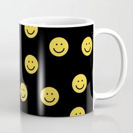 Happy Face - smiley, smiles, happy, emoji, cute, 90s, happy face Coffee Mug