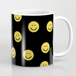 Happy Face - smiley, smiles, happy, emoji, cute, 90s, happy face Coffee Mug
