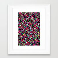 kaleidoscope Framed Art Prints featuring KALEIDOSCOPE by Bianca Lopomo