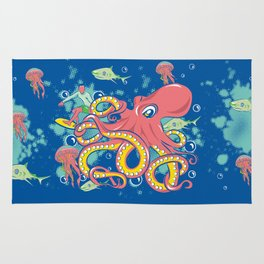 Octopus and Friends Rug