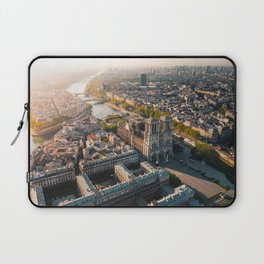 Notre Dame Rise Again Laptop Sleeve