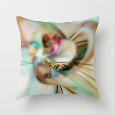 The Soft Breeze of Spring Throw Pillow