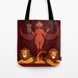 Ishtar | Animal Gods Tote Bag