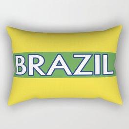 Brazil (Stripe) Rectangular Pillow