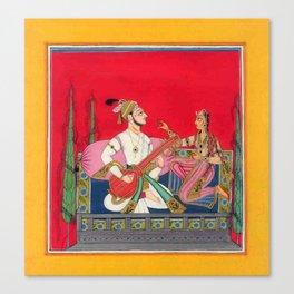 Ragamala Painting Canvas Print