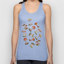 Magical Mushrooms Unisex Tanktop
