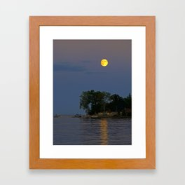 Supermoon Sept. 2014 Framed Art Print