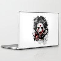 princess mononoke Laptop & iPad Skins featuring princess mononoke by ururuty