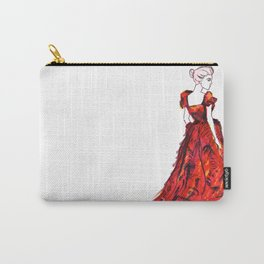 Red Gown Carry-All Pouch