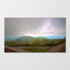 Brasstown bald Canvas Print