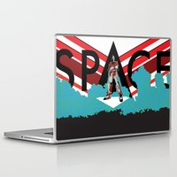 spaceman Laptop & iPad Skins featuring Spaceman by Robert Cooper