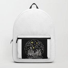 Castle Illustration Backpack