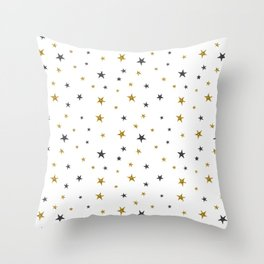 Starry Nights Throw Pillow