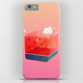 Melon Cube iPhone Case