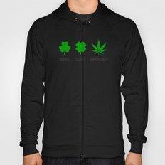 Cannabis / Hemp / Shamrock - Super Lucky mode Hoody