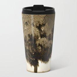 Tree and comb Travel Mug