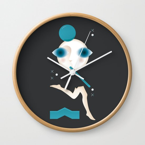 Not a Word Wall Clock