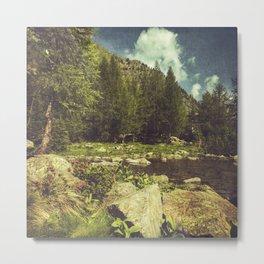 Alpine Idyll Metal Print