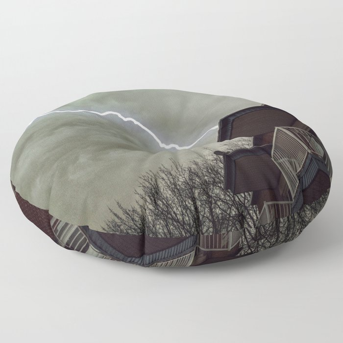 lightning Floor Pillow
