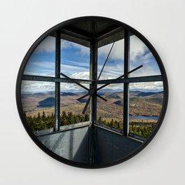 in the firetower Wall Clock