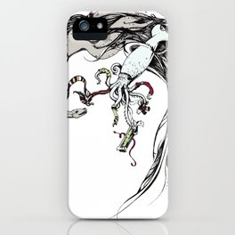 Unconventional Gifting: Plesiosaur and Cephalopod iPhone Case