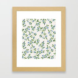 Blueberry Fields Framed Art Print