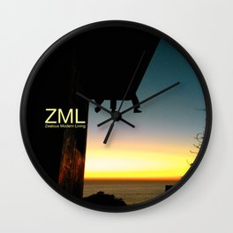 Further Horizons Wall Clock