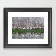 Clinging to Life Framed Art Print