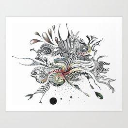 Big Bang Aftermath Art Print