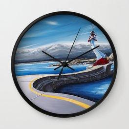 Ogden Point Seawall Wall Clock