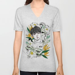 BTS Jungkook Unisex V-Neck