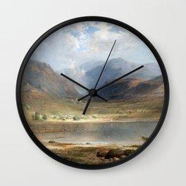 Loch Long 1867 Wall Clock