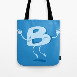 B Happy! Tote Bag
