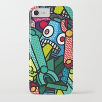 artsy iPhone & iPod Cases featuring Artsy Bot by Brandon Ortwein