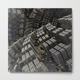Squared Off Metal Print