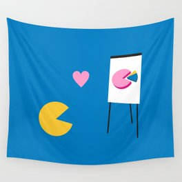 Office Romance Wall Tapestry