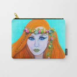 Redhead Poison Ivy Goddess Carry-All Pouch