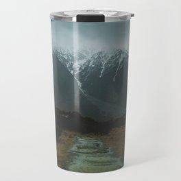 Hiking around the Mountains & Valleys of New Zealand Travel Mug