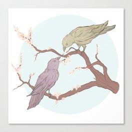 BBRae Birds Canvas Print