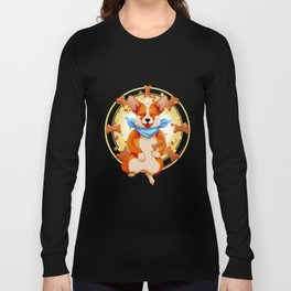 Zen corgi Long Sleeve T-shirt