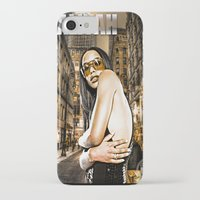 aaliyah iPhone & iPod Cases featuring Street Phenomenon Aaliyah by D77 The DigArtisT