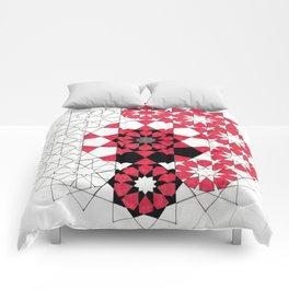 Pentagonal Rosett Comforters