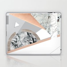 Collage I ( marble and copper ) Laptop & iPad Skin