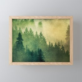 Nature Hike Framed Mini Art Print