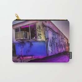 Light Painted Mobile Home Carry-All Pouch