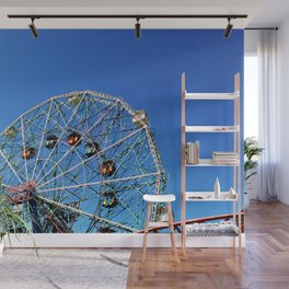Wonder Wheel Wall Mural