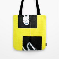 Yellow X-Ray Tote Bag